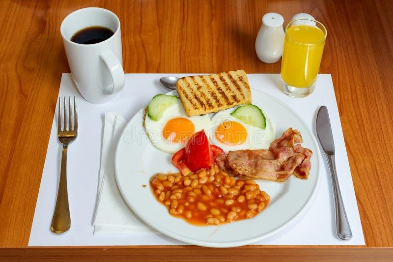 Café da manhã inglês foto de stock royalty free