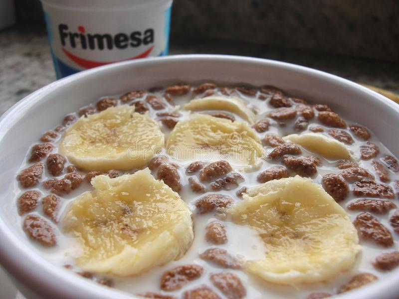 Café da manhã no navio de cruzeiros foto de stock