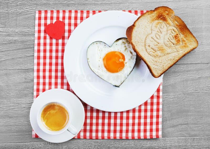 Café da manhã para amado fotografia de stock royalty free