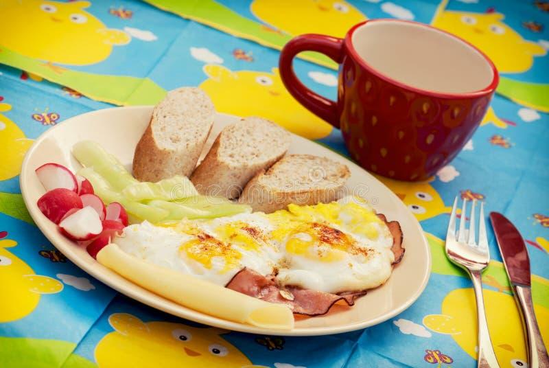 Café da manhã saboroso fotografia de stock
