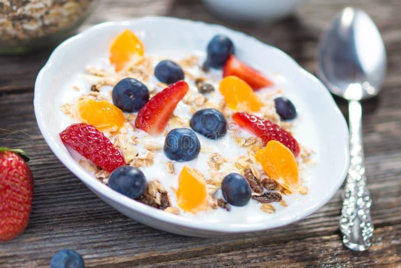 Café da manhã saudável imagem de stock royalty free