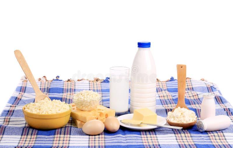 Café da manhã saudável servido na tabela. foto de stock royalty free