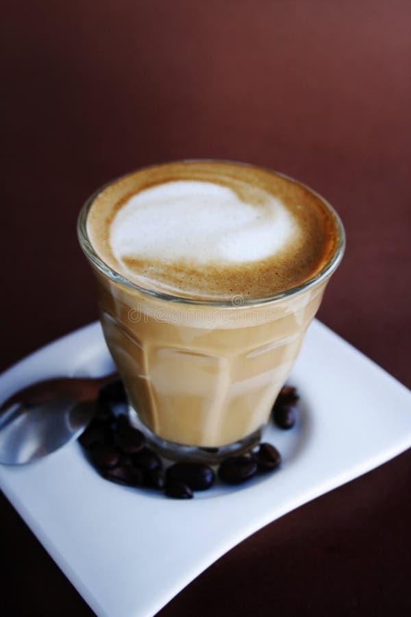 Café dans une glace image libre de droits