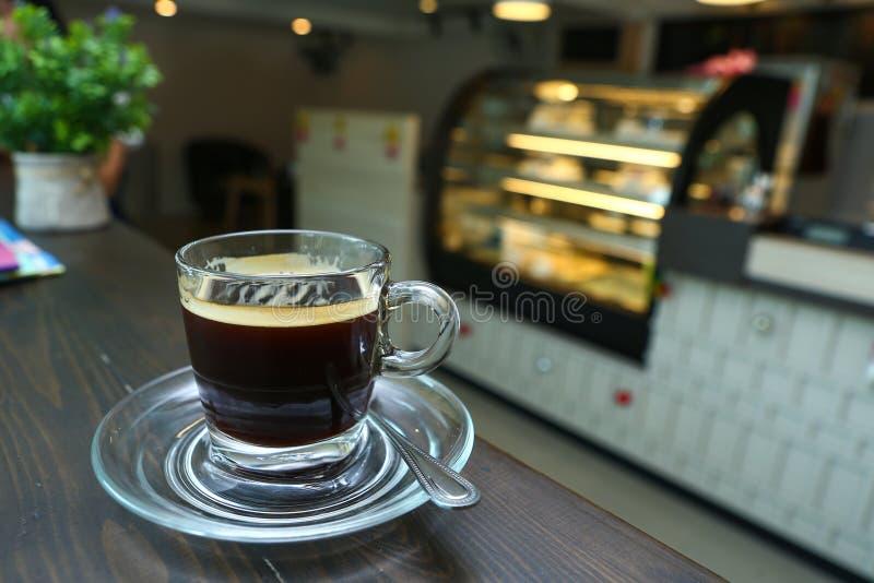 Café de Americano imagenes de archivo