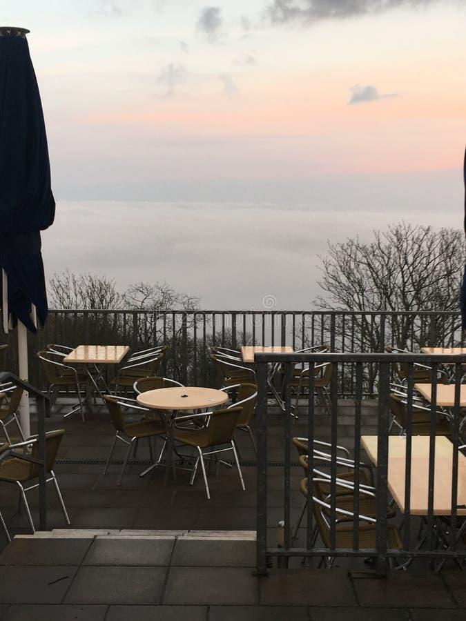 Café de Babbacombe fotos de stock royalty free
