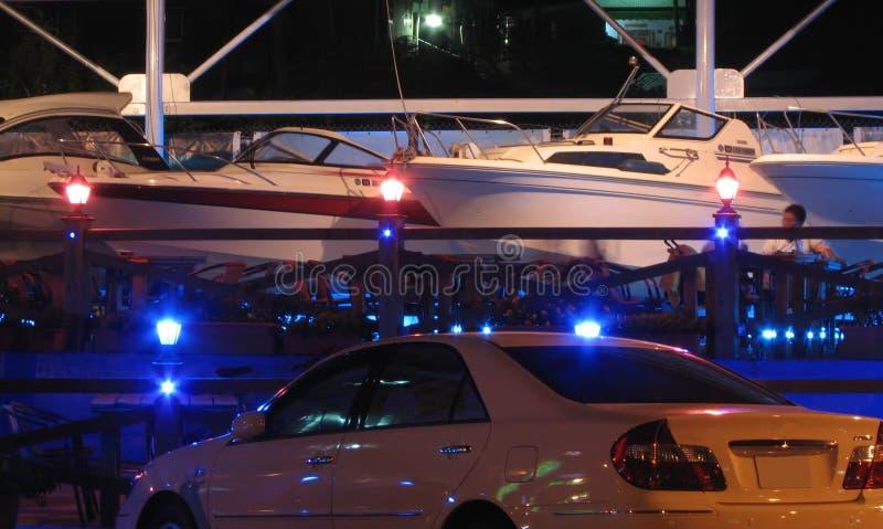 Café de bateau de vitesse images stock