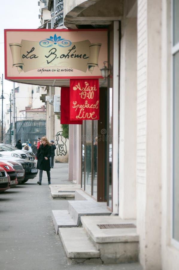 Café de boheme de La images stock