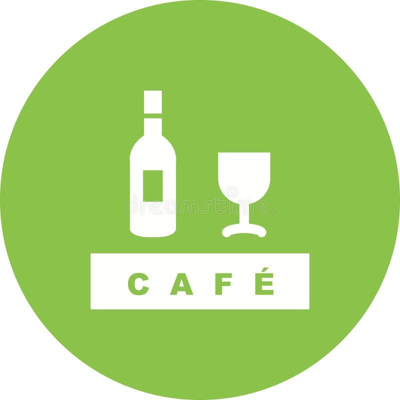 Café de boissons illustration libre de droits