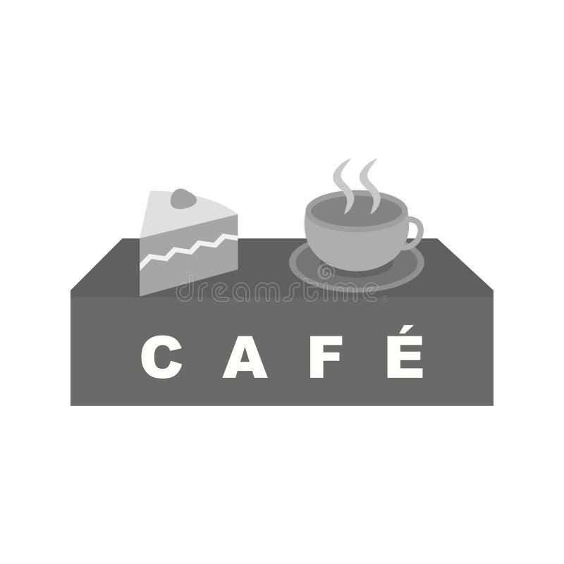 Café de boissons illustration stock
