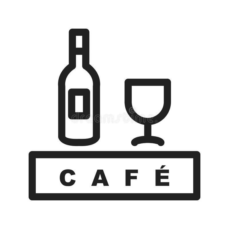 Café de boissons illustration de vecteur