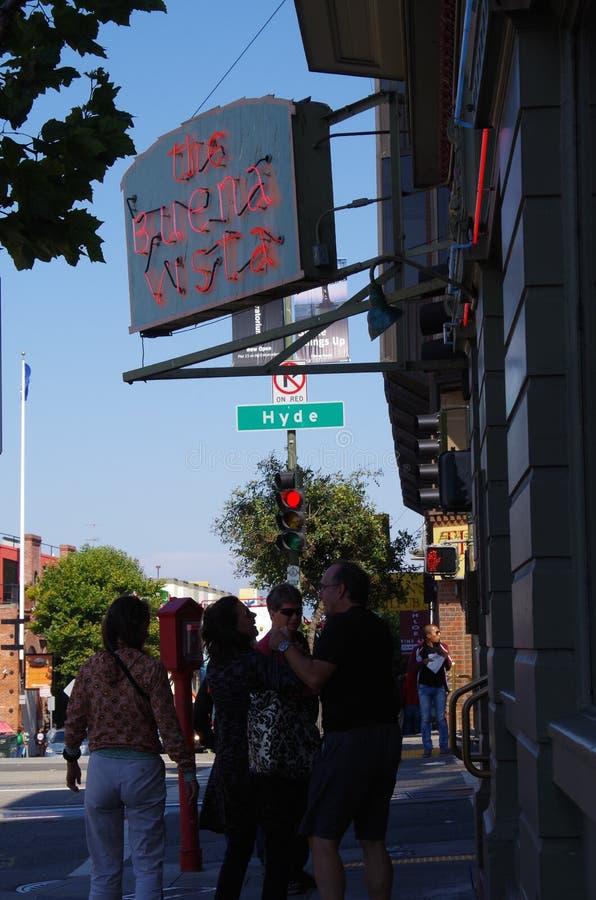 Café de Buena Vista, San Francisco, California foto de archivo