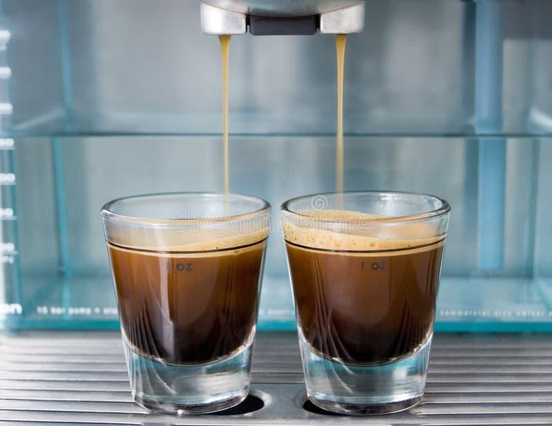 Café de café express images libres de droits