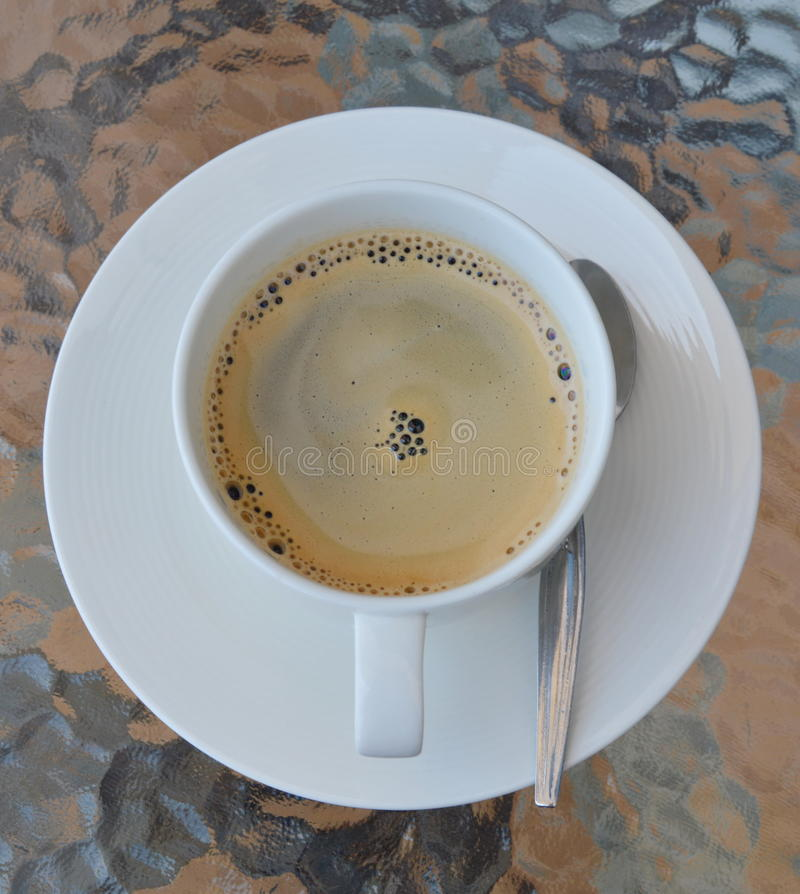 Download Café De Café Express Dans La Tasse Photo stock - Image du noir, table: 56477508