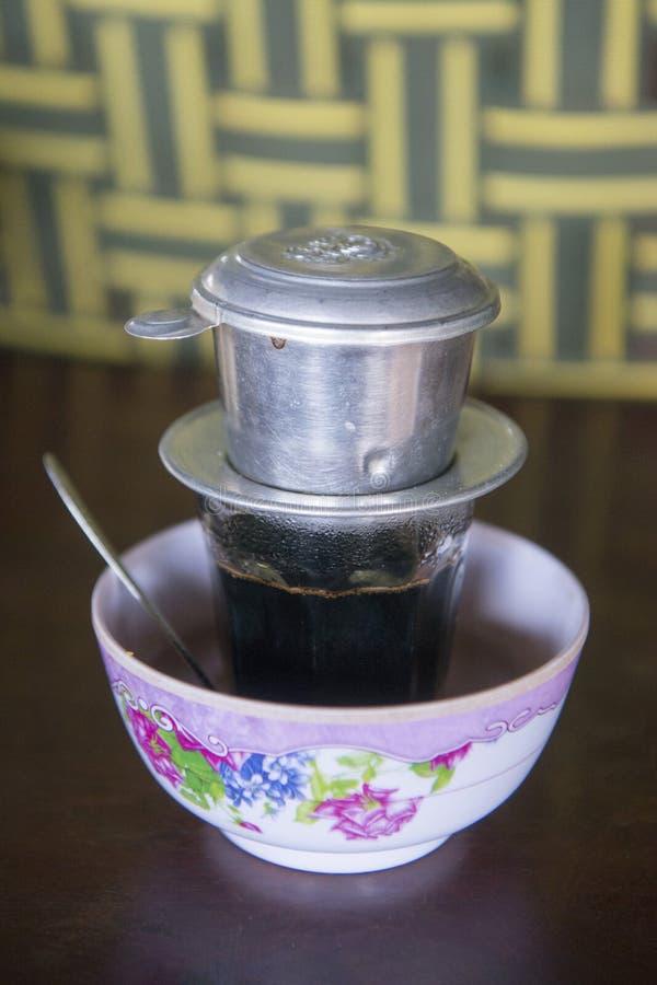 CAFÉ DE CAMBOYA ANLONG VENG imagen de archivo libre de regalías