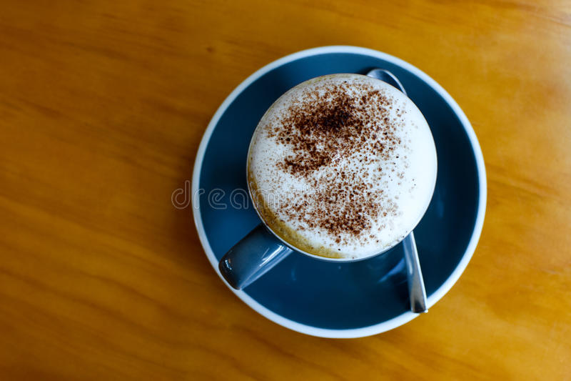Café de Capuccino photographie stock libre de droits