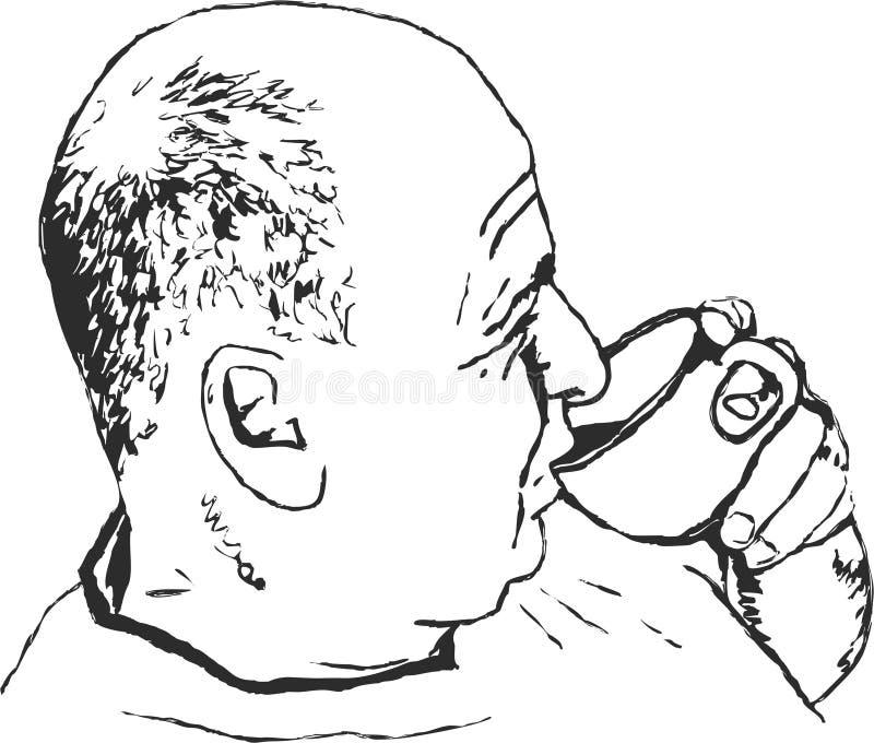 Café de consumición libre illustration