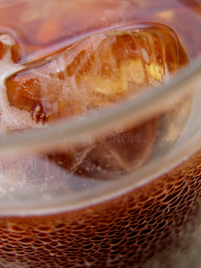Café de gelo fotografia de stock royalty free
