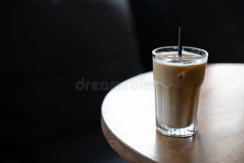 Café de glace de cappuccino ou de Latte images libres de droits
