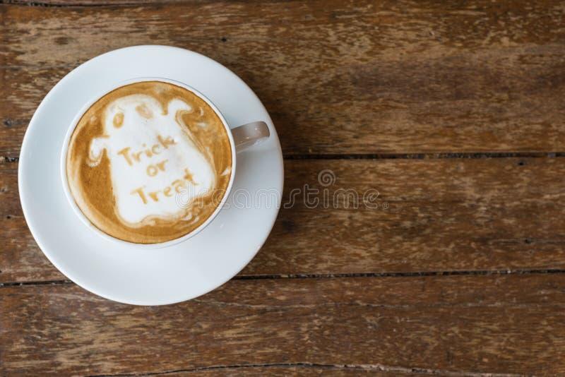 Café de Halloween fotografía de archivo