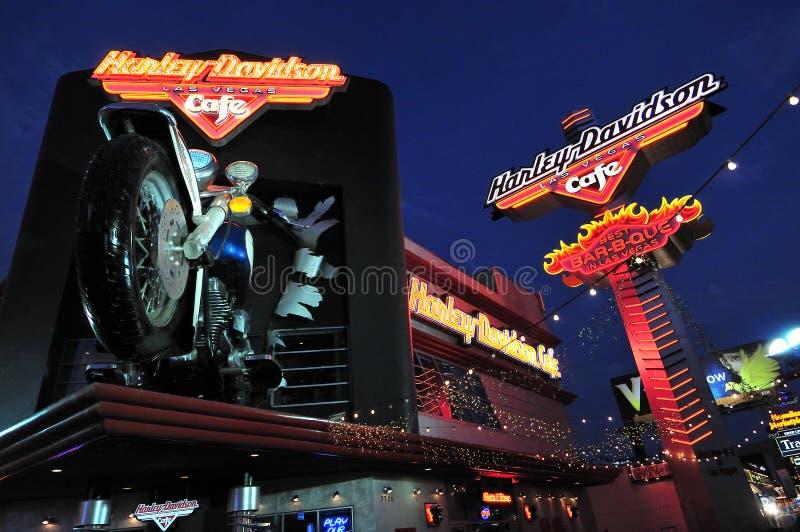 Café de Harley Davidson en Las Vegas fotos de archivo