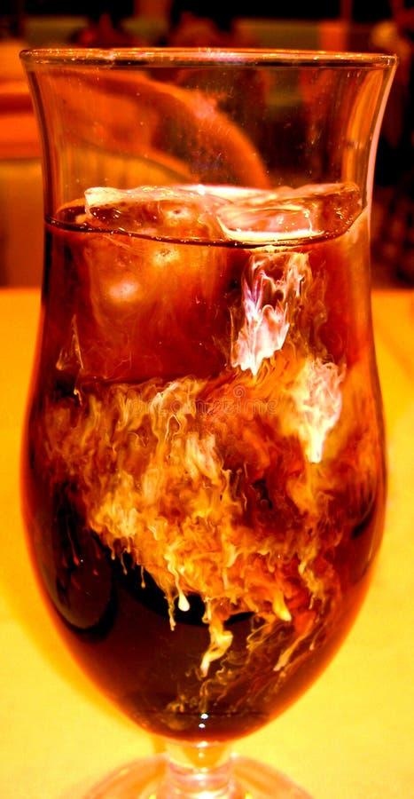 Café de hielo foto de archivo libre de regalías