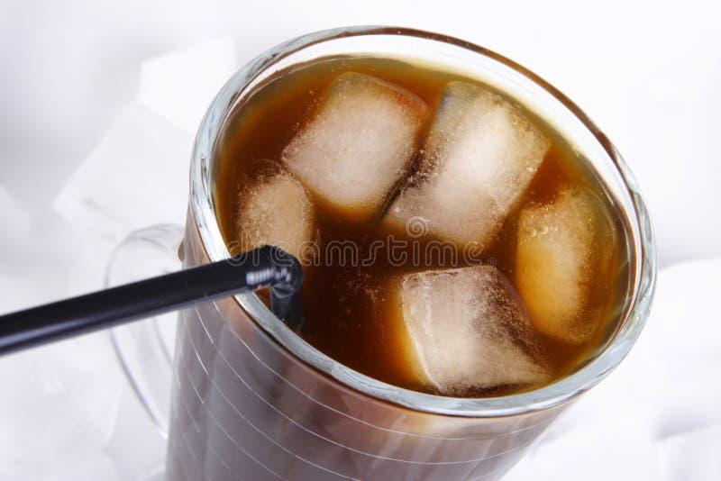 Café de hielo fotografía de archivo