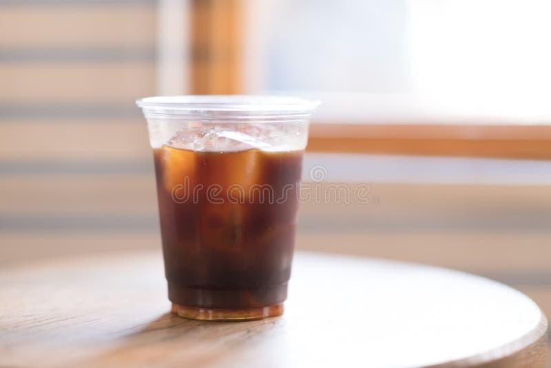 Café de hielo frío del brebaje foto de archivo