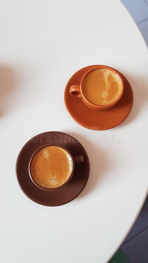 Café de Insta imagen de archivo libre de regalías