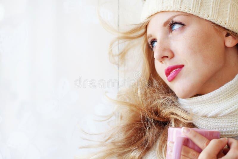 Café de l'hiver photos stock