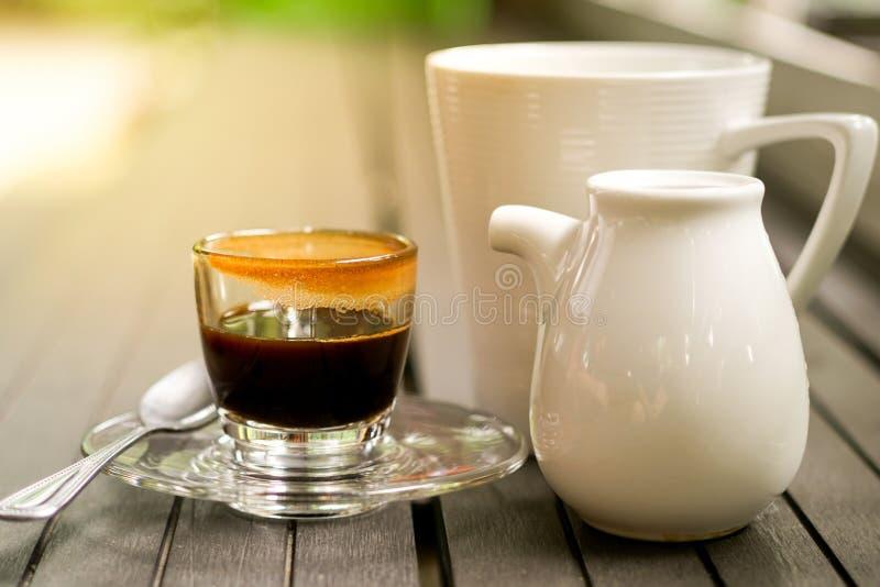 Café de la buena mañana fotografía de archivo libre de regalías