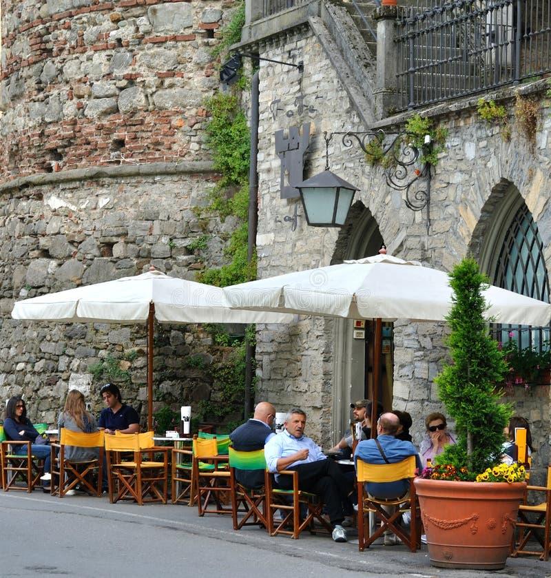 Café de la calle foto de archivo