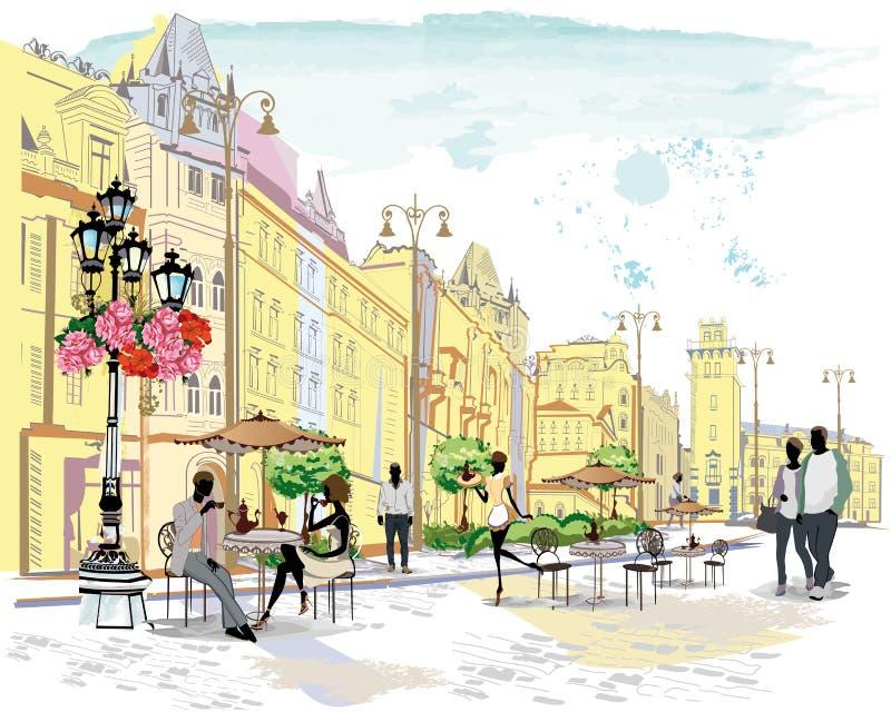 Café de la calle libre illustration
