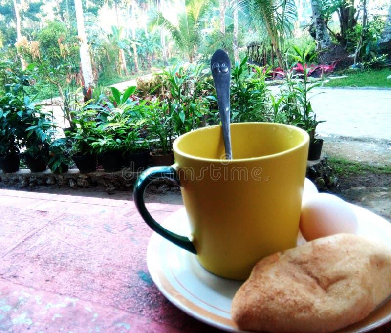 Café de la mañana fotografía de archivo