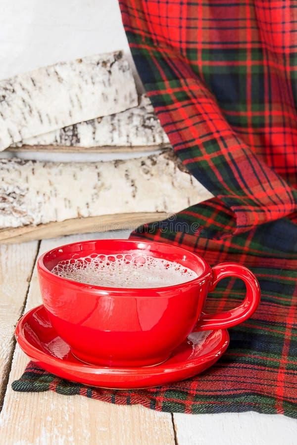 Café de la mañana con crema imagenes de archivo