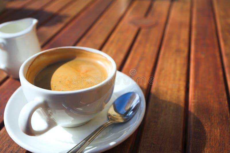 Café de la madrugada foto de archivo libre de regalías
