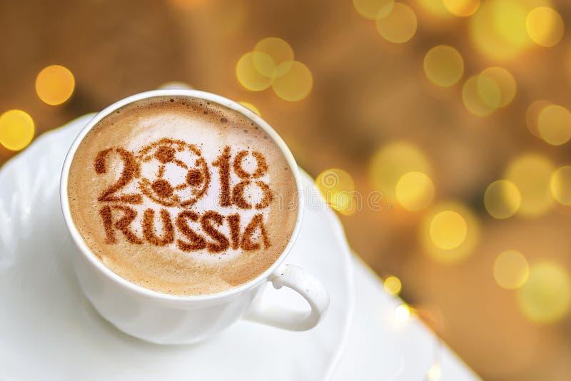 Café de la Russie 2018 images stock