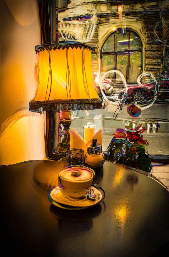 Café de la tarde fotografía de archivo libre de regalías