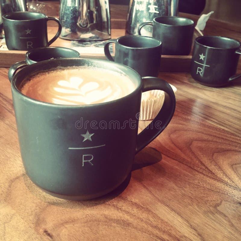 Café de lujo fotos de archivo
