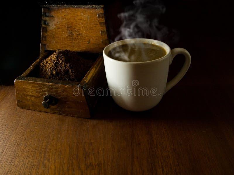 Café de matin. image stock