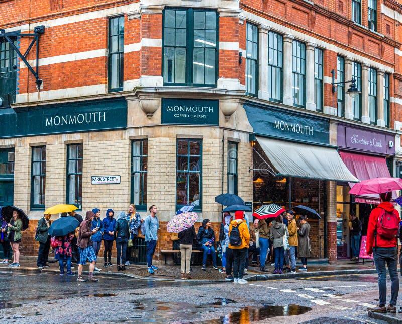 Café de Monmouth dans Southwark photo stock
