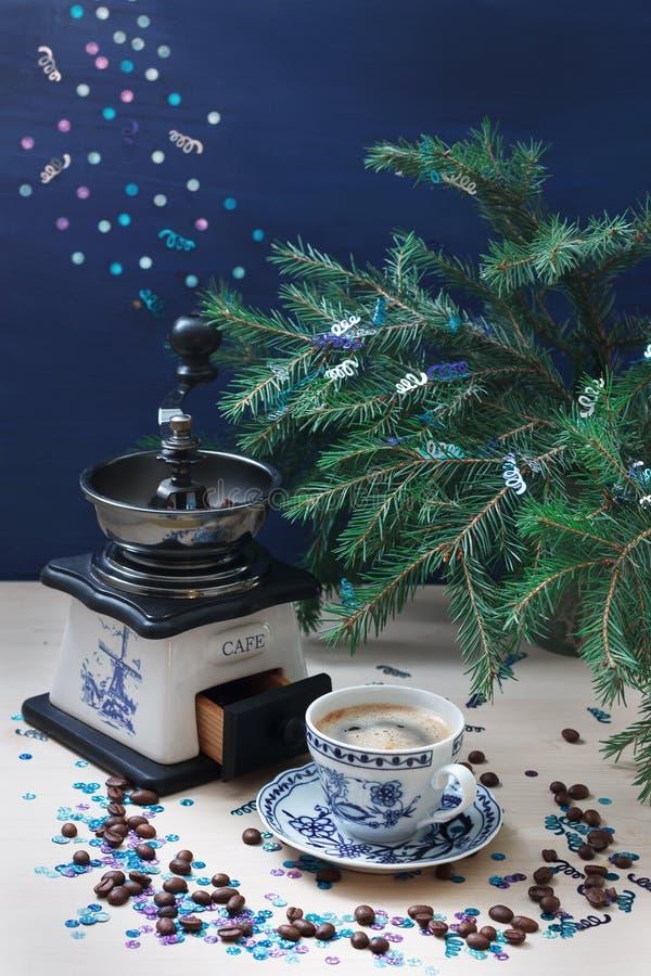 Café de Noël photos libres de droits