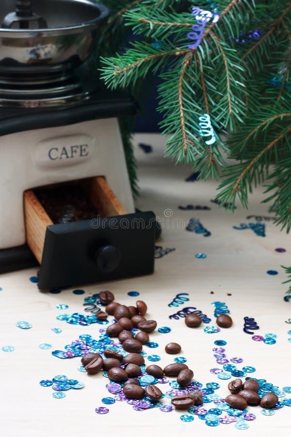 Café de Noël photos stock