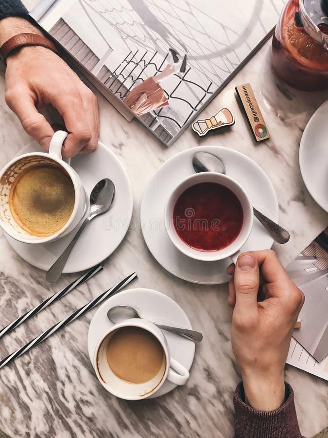 Café de petit déjeuner photo stock