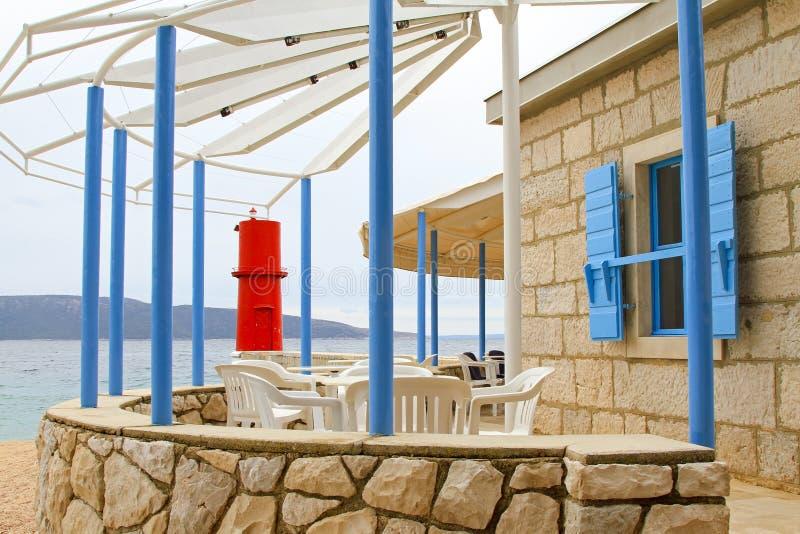 Café de phare photos stock