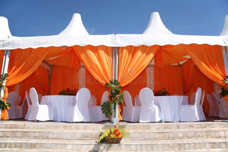 Café de tente image stock