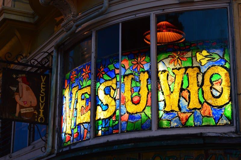 Café de Vesuvio, San Francisco fotos de archivo libres de regalías