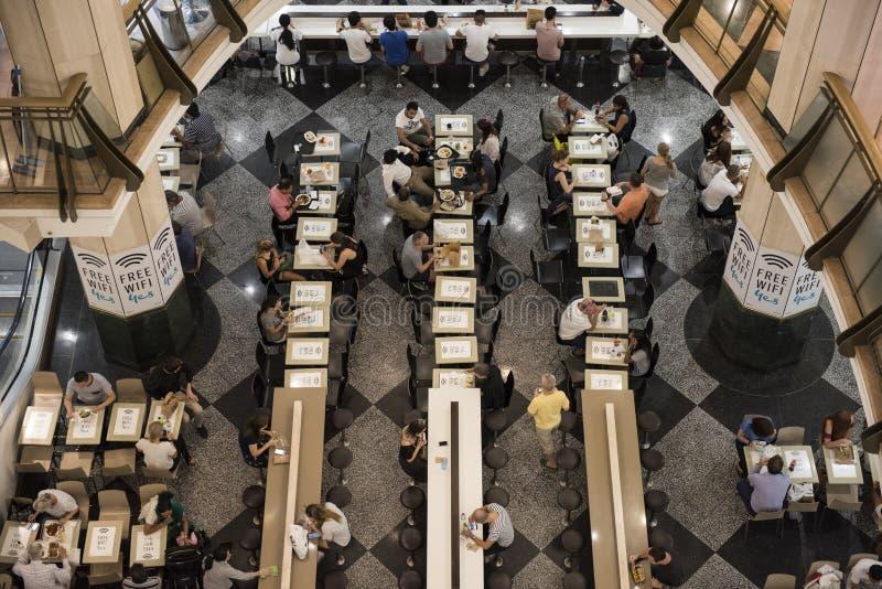 Café de Wifi, Sydney CBD fotos de stock royalty free