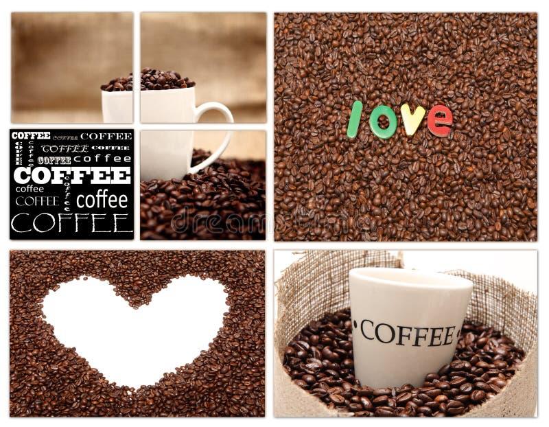 Café del amor foto de archivo