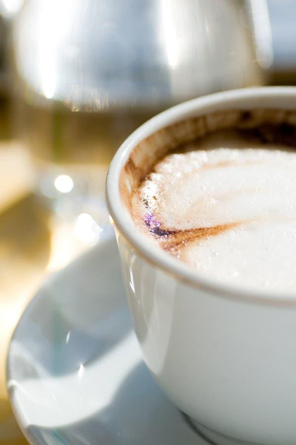 Café del Cappuccino fotografía de archivo libre de regalías