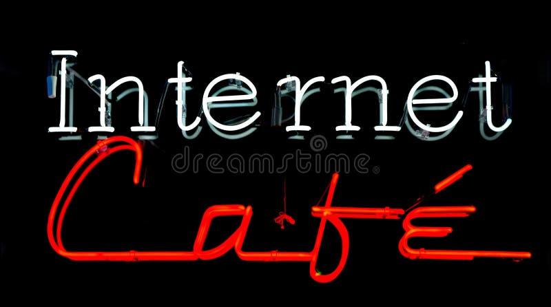 Café del Internet imágenes de archivo libres de regalías